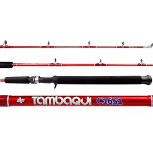 Vara de Albatroz Tambaqui 2 Partes C1652 1,65m 20-30Lbs -Vermelha