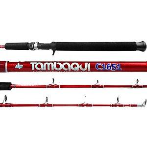 Vara de Pesca Albatroz Tambaqui 1 Parte C1651  1,65m 20-35Lbs-Vermelha