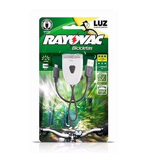 Lanterna Rayovac P/ Bicicleta Frontal Recarregável