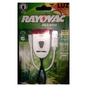 Lanterna  Rayovac Traseira P/ Bicicleta Recarregável