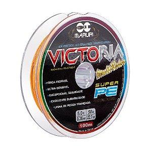 Linha Multifilamento Maruri Victoria 8X COLOR 100M - 0,36mm