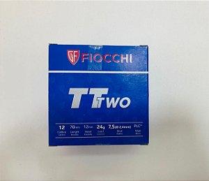 MUNICAO FIOCCHI CALIBRE 12 TT TWO 7.5 24 GRAMAS