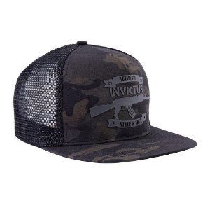 BONÉ INVICTUS THUNDER MULTICAM BLACK