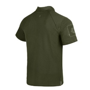 Camisa Polo Invictus Control Verde Oliva P