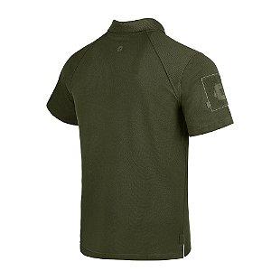 Camisa Polo Invictus Control Verde Oliva EG
