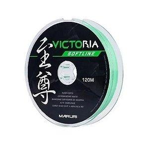 LINHA MARURI MONOFILAMENTO VICTORIA SOFT - 0,30 - verde