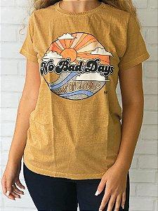 T-Shirt Ocre No Bad Days