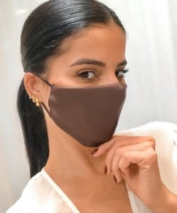 Máscara courinho Marrom