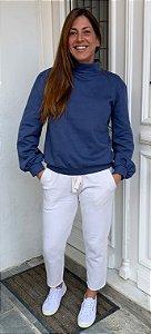 Blusão manga bufante