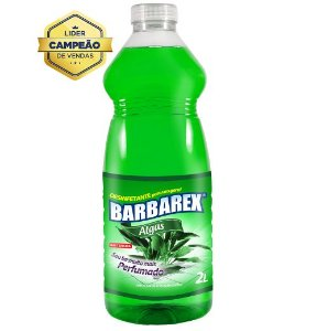 Desinfetante Barbarex Algas 2 Litros