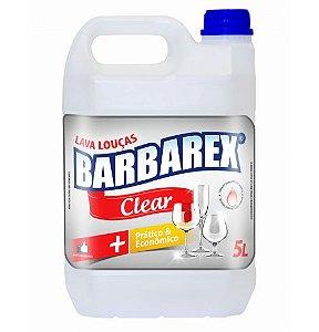 Lava Louças Barbarex Clear 5 Litros