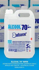Álcool 70 Barbarex 5 Litros