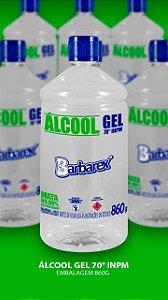 Álcool em gel 860 g