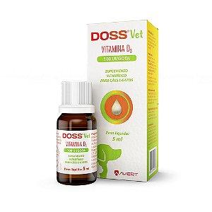 Suplemento Vitamínico para Cães e Gatos Doss Vet  5 ml