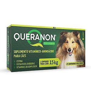 Suplemento Alimentar Queranon para Cães - 15 Kg 30  Comprimidos