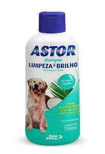 Shampoo Astor Limpeza E Brilho 500ml Mundo Animal