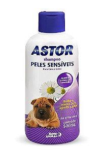 Shampoo Astor Peles Sensíveis 500ml Mundo Animal