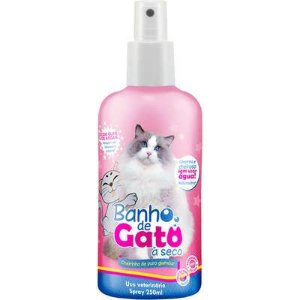 Banho de Gato à Seco - Cheirinho de Puro Glamour 250ml
