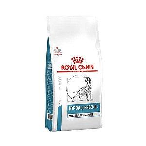 Ração Royal Canin Cães Aultos Veterinary Hypoallergenic Moderate Calorie