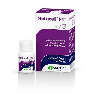 Metacell Pet Suplemento 50ml Ourofino