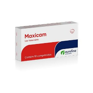 Maxicam Anti-inflamatório com 10 Comprimidos Ourofino