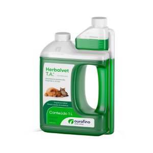 Herbalvet Desinfetante Bactericida 1 Litro OuroFino