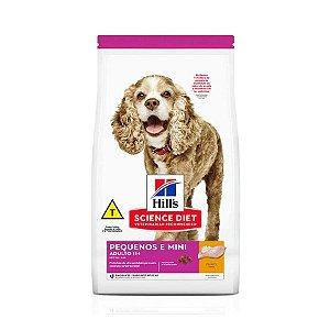 Ração Hill's Science Diet para Cães Adultos 11+ Raças Pequenas e Miniatura 2,4kg