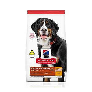 Ração Hill's Science Diet para Cães Adultos - Raças Grandes 12Kg