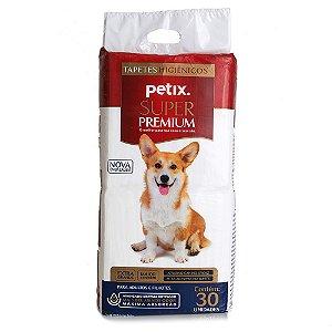 Tapete Higiênico Petix Super Premium com 30 unidades