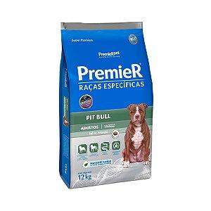 Ração Premier Raças Específicas para Cães Adultos Pitbull Sabor Frango 12kg