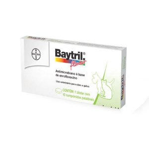 Baytril Flavour 10 Comprimidos Bayer
