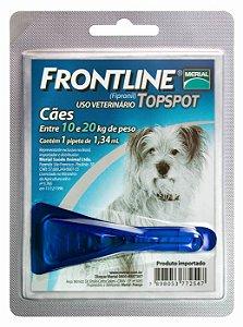 Frontline Topspot Cão 1,34ml Até 10-20kg Boehringer Ingelheim