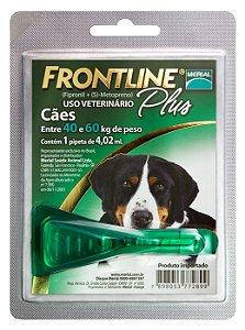 Frontline Plus Cão 4.02ml 40-60kg  Boehringer Ingelheim