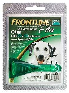 Frontline Plus Cão 2.68ml 20-40kg  Boehringer Ingelheim