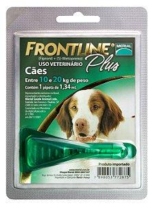 Frontline Plus Cão 1.34ml 10-20kg  Boehringer Ingelheim