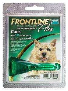 Frontline Plus Cão 0.67ml Até 10kg  Boehringer Ingelheim