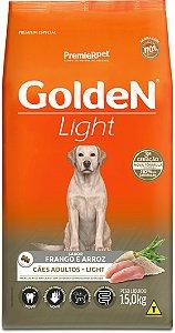 Ração Golden Formula Light para Cães Adultos Frango e Arroz 15kg