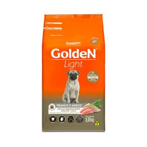 Ração Golden Formula Light para Cães Adultos Frango e Arroz Mini Bits Porte Pequeno