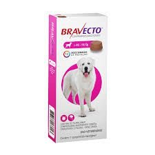 Bravecto Antipulgas e Carrapatos para Cães de 40 a 56Kg 1400mg 1 Comprimido Msd
