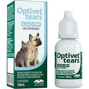 Optivet Tears Solução Oftálmica 10ml Vetnil