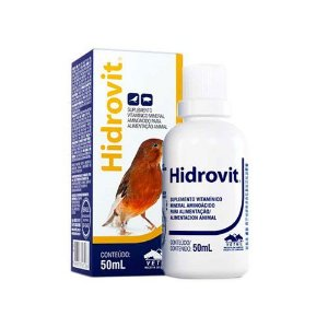 Hidrovit Polivitamínico 50ml Vetnil