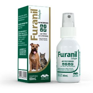 Furanil Spray Antimicrobiano 60ml Vetnil