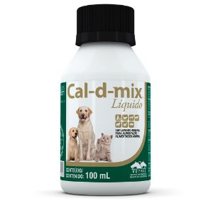 Cal-D-Mix Suplemento 100ml Vetnil