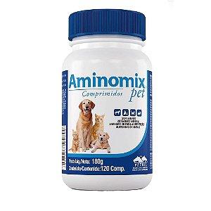 Aminomix Pet  Suplemento Vitaminico 120 Comprimidos Vetnil