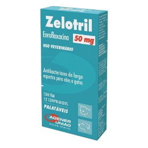 Zelotril 50mg 12 Comprimidos Agener