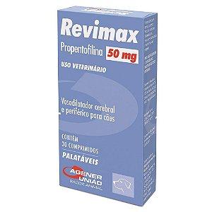 Revimax 50mg 30 Comprimidos Agener