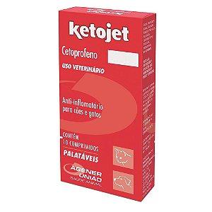 Ketojet Anti-inflamatório 10 Comprimidos Agener