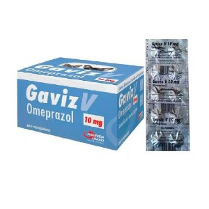 Gaviz V. Omeprazol 10mg Cartela 10 Comprimidos Agener