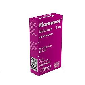 Flamavet Anti-inflamatório  2,0mg 10 Comprimidos Agener