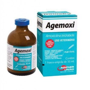 Agemoxi Cl  Antibiotico Injetavel 50ml Agener